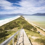 Bruny Island Neck is an isthmus of land connecting north and south Bruny Island, southern Tasmania